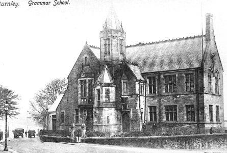 The Burnley Grammar School of 1873 on Bank Parade